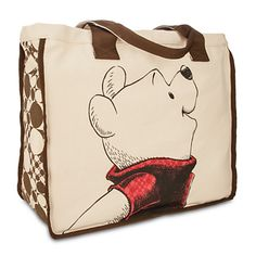 Winnie the Pooh Canvas Tote