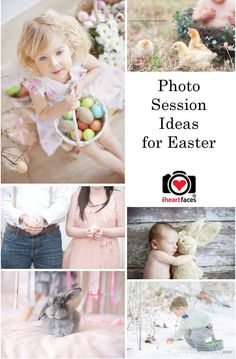 Easter Photography Session Ideas Featured on iHeartFaces.com