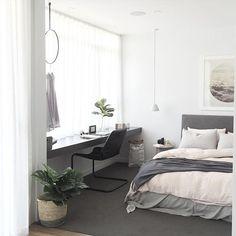 bedroom + desk