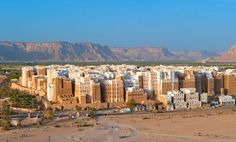 Shibam, Yemen...ancient high rise buildings