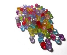Acrylic Beads Resin Beads Mix Color Plastic Faceted Beads Jewelry findings Diy Jewelry supplies Craft supplies by Neda Jewelry Findings, Beaded Jewelry, Unique Jewelry, Diy Jewelry Supplies, Craft Supplies, Plastic Resin, Acrylic Beads, Color Mixing, My Etsy Shop