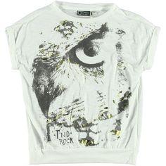 T-Shirt White | Tumble n Dry | Daan en Lotje https://daanenlotje.com/kids/meisjes/tumble-and-dry-t-shirt-white-001333