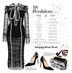 """""""#PolyPresents: New Year's Resolutions"""" by naki14 ❤ liked on Polyvore featuring Jimmy Choo, Manolo Blahnik, Aurélie Bidermann, Chanel, NARS Cosmetics, Abbott Collection, Dolce&Gabbana, contestentry and polyPresents"""
