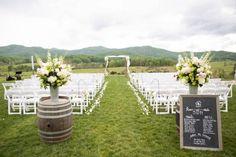 Charlottesville wedding ceremony