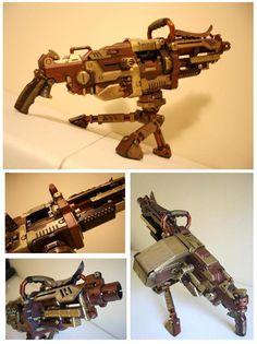 Nerf Gun: Vulcan: Steampunk