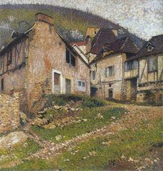 Houses in the Village - Henri Martin