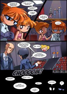 PowerPuff girls Doujinsh chapter 7 page 9 by bleedman SNAFU comics