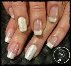 French nail art with an accent