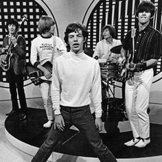 Early in 1965, the Stones hit the Top 20 for the second time.  So many great styles in one photo.
