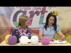 Vida com Arte Tapete Ursa Kika em Crochê por Maria José 09 de Setembro de 2014 - YouTube
