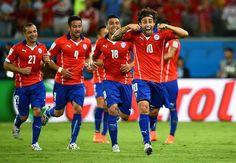 Chile 3 - 1 Australia