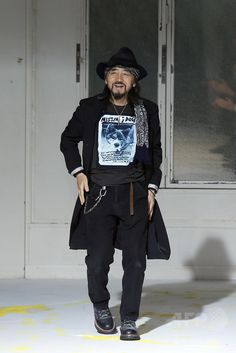 山本耀司は反逆の巨匠、高橋盾は破壊の巨匠 国際ニュース:AFPBB News