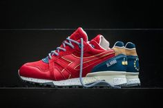 "UBIQ x Diadora ""Red Ribbon"" Launches this Weekend Sneaker Bar, Sneaker Games, Adidas Zx Flux Camo, Sneaker Dress Shoes, Nike Air Max 90s, Baskets, Sneaker Release, Nike Shoes Outlet, Air Jordan Shoes"