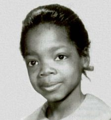"""How did Oprah get her name? It's a question the television pioneer gets asked all the time. """"Only it was suppos. Young Celebrities, Young Actors, Celebs, Child Actors, Beautiful Celebrities, Famous Women, Famous People, Celebrity Babies, Look At You"""