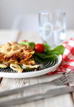moose-courgette lasagne