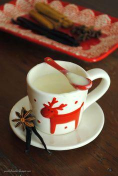 Pane, burro e alici: Cioccolata bianca in tazza alla vaniglia