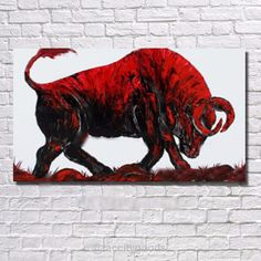 Modern Animal Oil Painting Print - Home Decor - Tac City Goods Co - 11 Link in the bio