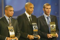Ronaldo, Thierry Henry (astro snake 1977) Zinedine Zidane http://en.wikipedia.org/wiki/Thierry_Henry