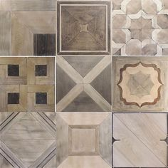 Which pattern is your favorite? I would have a really hard time choosing just one! #parquetflooring #woodflooring #itsallaboutthedetails #jwkitchens #whiteoakflooring #walnutflooring #nkbamn #designforalifetime #fargodesigns