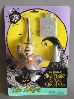 1993 Hasbro Nightmare Before Christmas Mayor