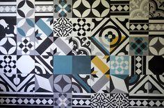 Patchwork. Tiles: Purpura #cementtiles