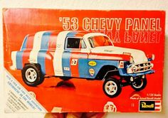 Revell 1953 Chevy Panel box art