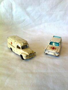 Two Vintage Emergency Vehicles- Husky & Lesney - http://www.matchbox-lesney.com/32106
