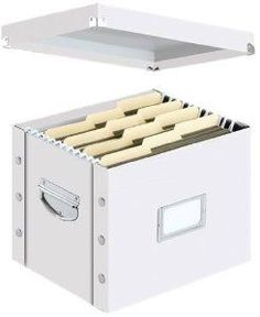 File Boxes - 5 for shelves in office