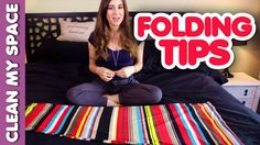 Folding Tips #4: Fitted Sheet, Dresses & Skirts, Hang Fold, Towel Swan! ...