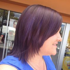 Katie's #purplehair All For Mary - Redefining the salon experience www.allformary.com