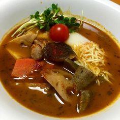 晩御飯はハウスのスープカレーの匠と旨煮の残りを使ってスープカレー雑煮に - 91件のもぐもぐ - スープカレー雑煮 by fighterscurry