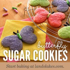 Red, yellow and orange dough combine to make colorful sugar cookies to serve during the summer season.