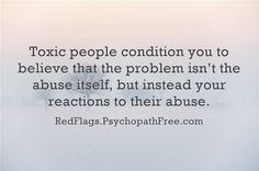 How toxic people choose to react to your reaction. May 4 2016 by Healing From Complex Trauma & PTSD/CPTSD Abusive Relationship, Toxic Relationships, Relationship Tips, Carl Jung, Infp, Toxic People Quotes, Survivor Quotes, Toxic Family, Narcissistic Abuse