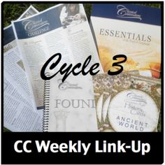 http://www.halfahundredacrewood.com/category/classical-conversations-cycle-3-weekly-link-up/