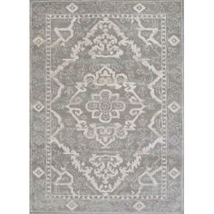 Found it at Wayfair - Avery Gray Area Rug