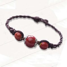 Vintage Ball Rope Chain Ceramic Beads Bracelet Handmade Color Jewelry for Women Adjustable Christmas Gift New Arrival. Bracelets With Meaning, Cute Bracelets, Braided Bracelets, Bracelets For Men, Handmade Bracelets, Ceramic Beads, Rope Chain, Stone Bracelet, Bracelet Designs