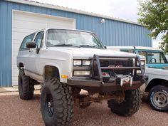 1977 Chevy K5 Blazer custom bumper | Sweet OOBS Blazer/Suburban offroad bumpers