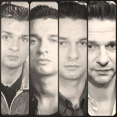 Dave Gahan over the years.