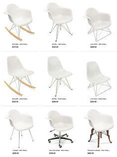 Case Study Fiberglass Shells Chairs