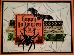 Sunday View: Halloween Card Pinspiration and Inspired Sunday Blog Party