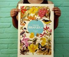 Gravura IBIRAPUERA Flores