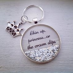 Chin up princess or the crown slips by P3personalizedjewlry