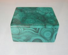 Malachite Pill Box by spacepop on Etsy, $62.00