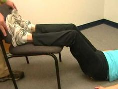 During this final phase on S-I Joint Dysfunction, PT Tim Highland of Champion Fitness Physical Therapy, assisted by former patient Amy Eicher, demonstrates a series of exercises that a patient can do at home to strengthen the S-I Joint area. This video would also be helpful to PTs, PTAs, and ATCs as a means to help them with a potential plan ...