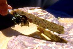 Zucchini Frittata recipe from Michael Chiarello via Food Network
