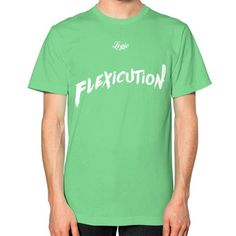 Flexicution Logic Unisex T-Shirt (on man)