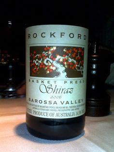 Its a nice drop Australian Shiraz, Shiraz Wine, Vintage Wine, Wine Drinks, Wines, Red Wine, Basket, Wine Labels, Dining