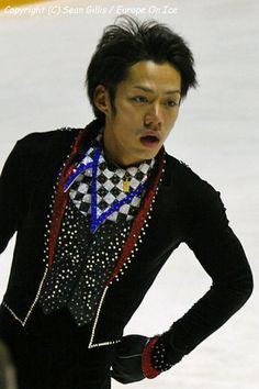 Daisuke Takahashi (高橋 大輔 Takahashi Daisuke?, born March 16, 1986 in Kurashiki, Okayama Prefecture, Japan) is a Japanese figure skater. He is the 2005, 2006 and 2007 Japanese national champion, the 2008 Four Continents Champion, and the 2007 World silver medalist. He represented Japan at the 2006 Winter Olympics.  en.wikipedia.org/wiki/Daisuke_Takahashi
