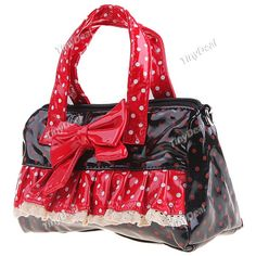 New Arrival Bowknot Design Bag Handbag Purse Tote Shoulder Bag for Women Ladies - Color Assorted NF-90778
