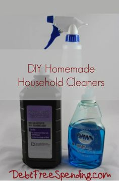Check out our extensive list of DIY Homemade Cleaners. Clean your house for less.